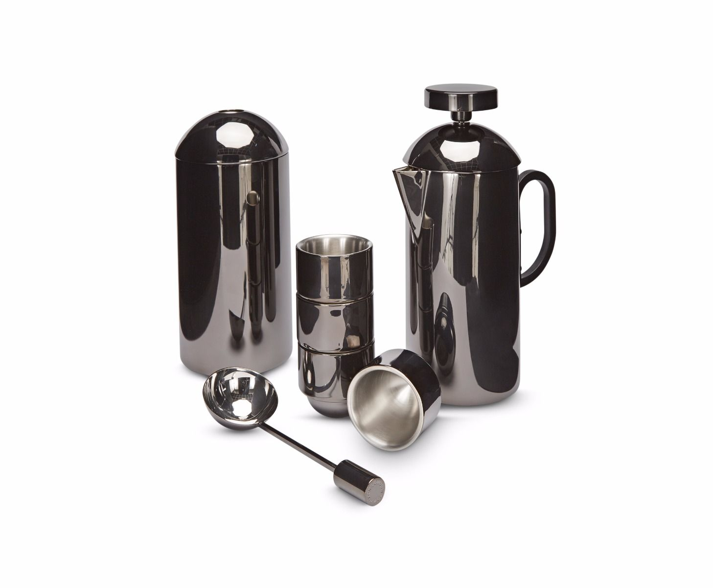 Brew Black Cafetiere Giftset
