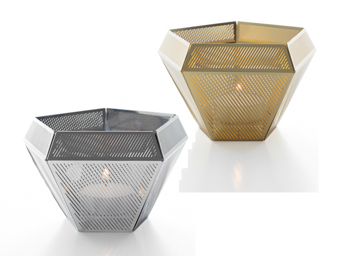 Cell Tea Light Holder