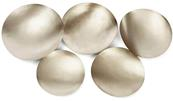 Form Bowl Set - Silver