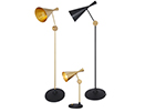 Beat Table and Floor Lamps